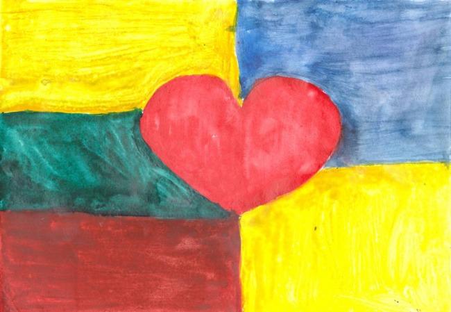 Триває Міжнародний литовсько-український конкурс «Дружать діти на планеті»