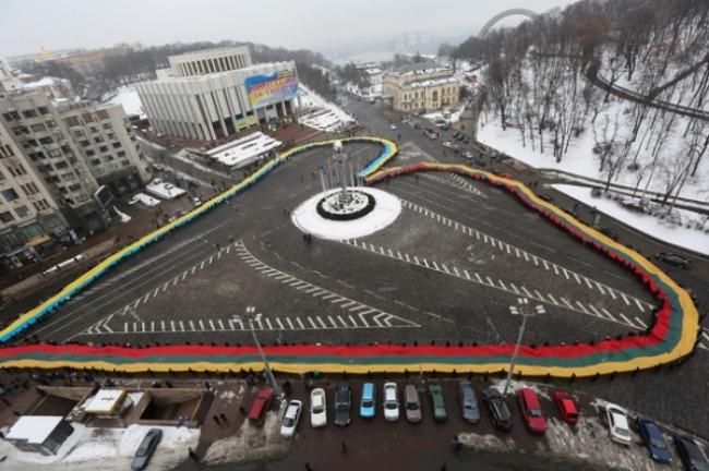 Єдине серце об'єднало Україну та Литву