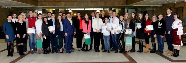 Відбулась Церемонія нагородження переможців конкурсу «Україна та НАТО: сучасних погляд української молоді»