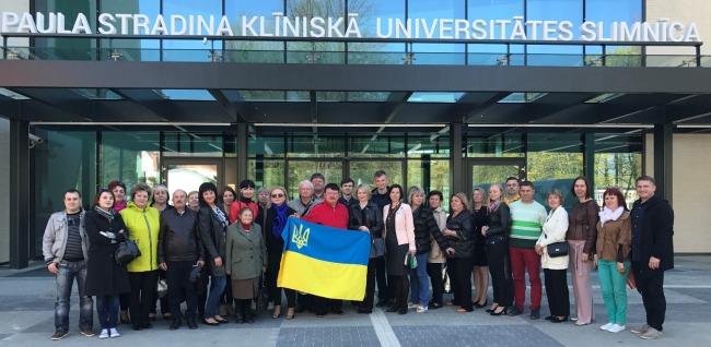 Українсько-балтійська гуманітарно-медична співпраця триває