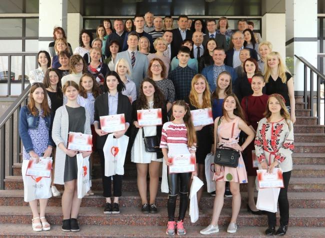 Нагороджено переможців ІІ Міжнародного українсько-литовського конкурсу малюнків «Здай кров заради життя»