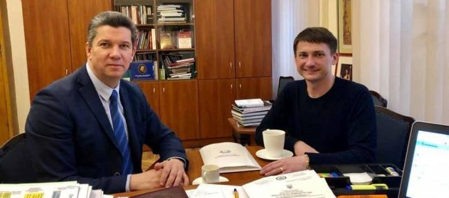 Відбулась зустріч з Держсекретарем Мінкультури Ростиславом Карандєєвим