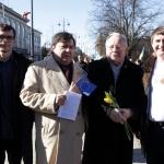 З першим Президентом Литви